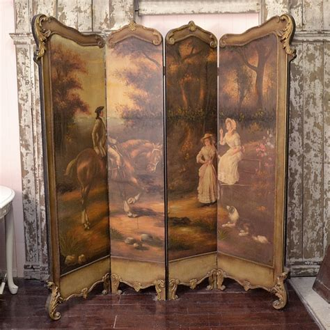 45 best images about antique panel dressing screens on