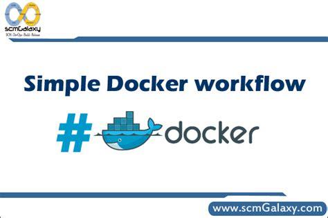 docker quick tutorial simple docker workflow quick start docker tutorial