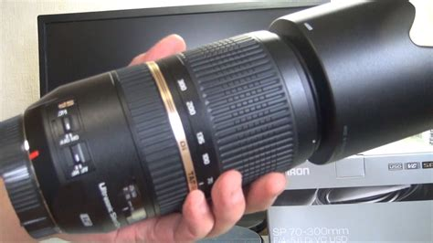 tamron sp  mm    vc usd unboxing canon