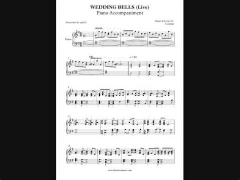 Wedding Bells Coldplay by Wedding Bells Coldplay Piano Accompaniment By Aldy