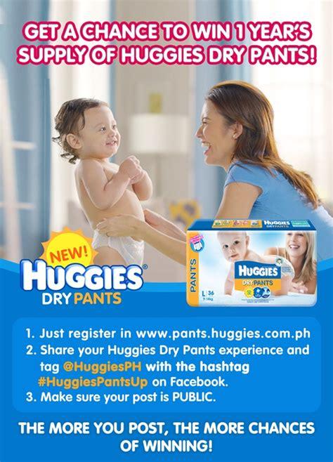 Promo Happy Diapers Medium Up Up Away win 1 year supply of huggies
