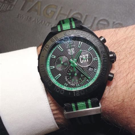 Tag Heuer F1 Cr 7 Edition Steel Orange cristiano ronaldo cr7 limited edition tag heuer formula 1 perfection watches swiss
