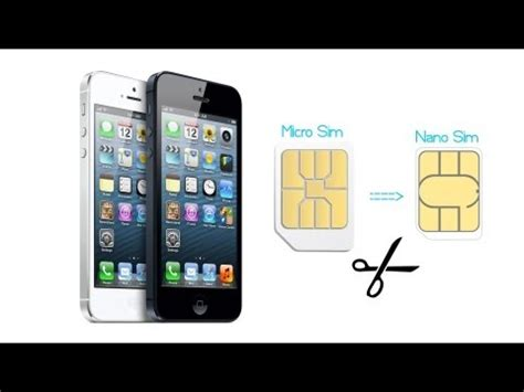 sim card for iphone 5 template micro sim karte zur nano sim karte f 252 r htc one m8 und