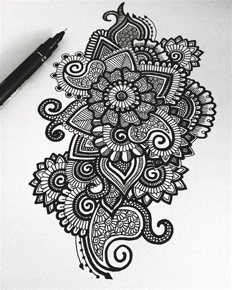 pen doodle drawings best 25 black pen drawing ideas on pen