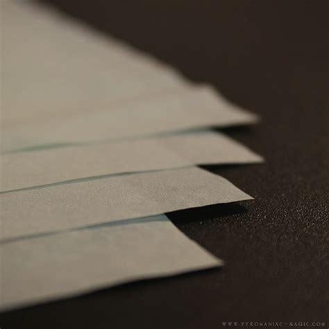 Flash Paper - pyromaniac magic standard flash paper