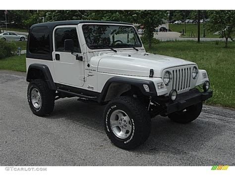 1999 white jeep wrangler sport 4x4 50549888 gtcarlot car color galleries