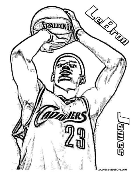 coloring pictures of nba players big boss basketball coloring pictures basketball players