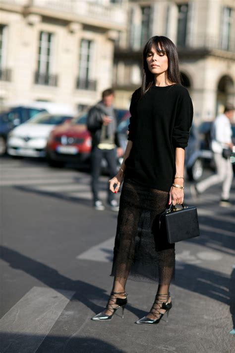 Looks Of The Week Fabsugar Want Need 37 by Sheer Chic The Best Style At Fashion Week
