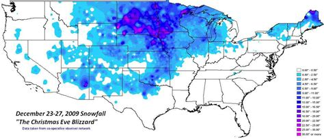 us blizzard weather map total snowfall associated with the