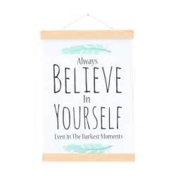 Believe Yourself poster believe in yourself