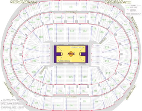 staples center floor plan staples center seating query realgm