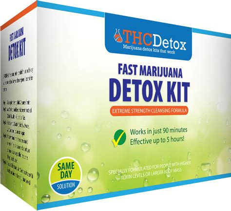 3 Day Detox Thc by Fast Thc Marijuana Detox Kit Pass Test In 1 Day