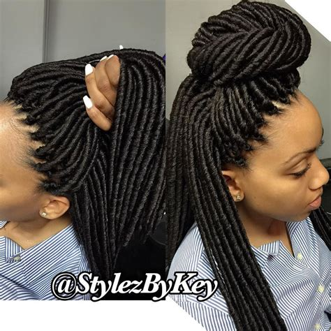 hairstyles for crochet faux locs voiceofhair stylists styles on instagram natural