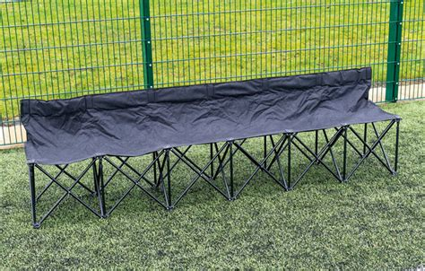 quick bench six seater quick bench match day nets and poles 3q