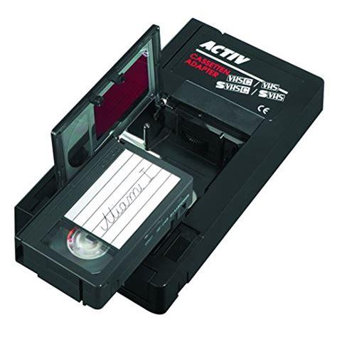 adattatore cassette vhs hama adattatore x cassette da vhs c a vhs automatica