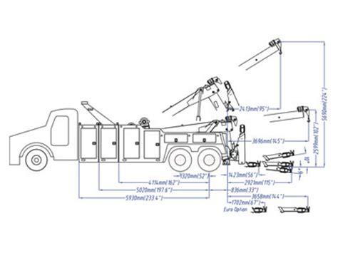 tow truck parts diagram int 30 30 ton medium heavy wrecker
