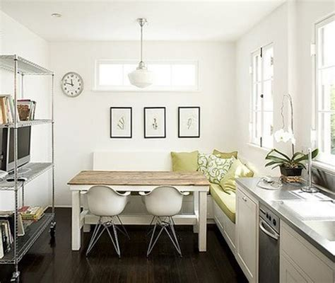 kitchen table ideas for small spaces 45 creative small kitchen design ideas digsdigs