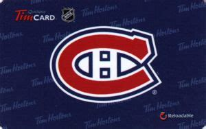 Gift Cards Montreal - gift card montreal canadiens e tim hortons coldstone creamery canada official