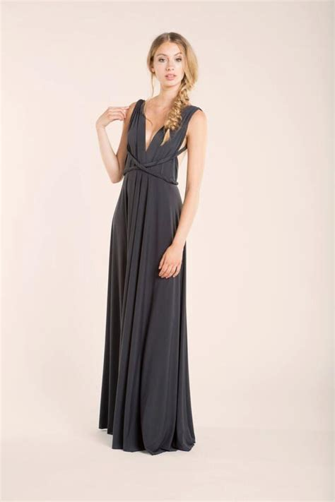 Gray Sleeveless Two Dress sleeveless grey maxi dress gray dress formal dress prom dresses gray maxi dress