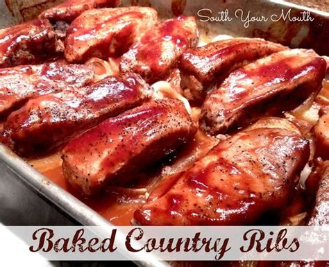 best way to cook boneless country style ribs baked country ribs sauces and look at