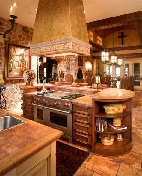 tuscan style kitchen cabinets mullet cabinet mediterranean tuscan style kitchen