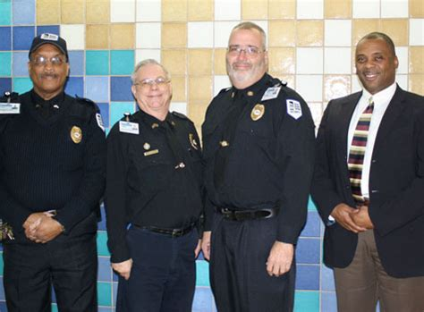 Commissioned Security Officer by Three Memorial Hospital Security Officers Honored As