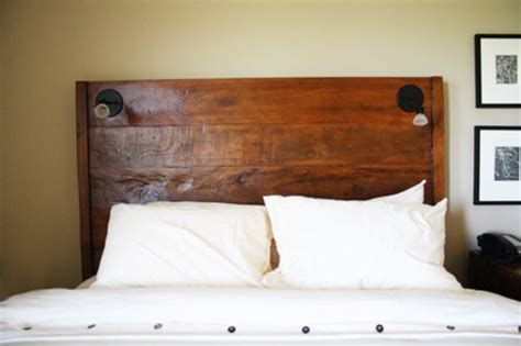 headboard light fixtures headboard con veladores hogar pinterest