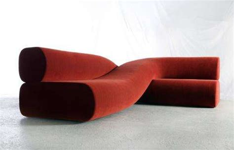 wavy couch crossed couches nina edwards adds her design spin with