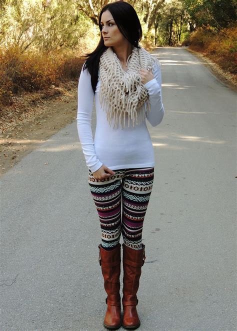 20 style tips on how to wear printed leggings outfit ideas gurl com
