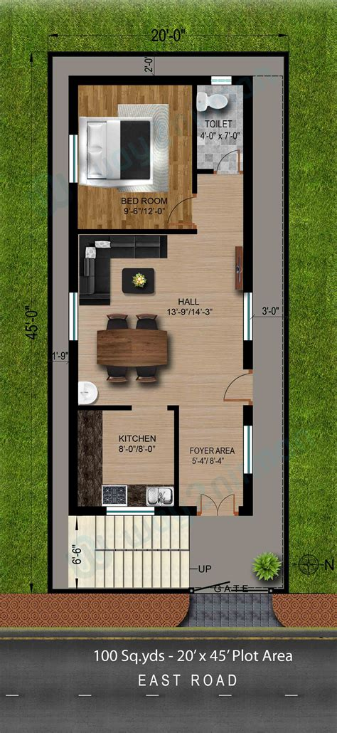 Gaj Into Square Feet by 100 100 Gaj Sq Ft 100 Home Design For 100 Gaj 3