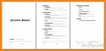 Company Profile Template Pdf by 9 Company Profile Exles Pdf Target Cashier