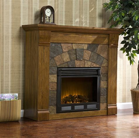 Electric Fireplace With Built In Shelves by Interior Inspiring Electric Fireplace With Mantel Design