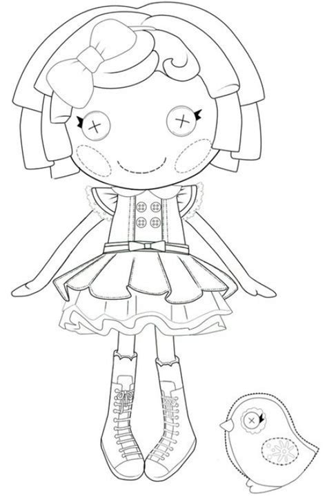 free lalaloopsy bea coloring pages