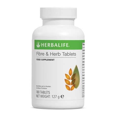 Fiber Herb Tablets herbalife independent member fiber herb tablets