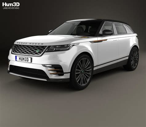 Land Rover 2018 Models by Land Rover Range Rover Velar 2018 3d Model Hum3d