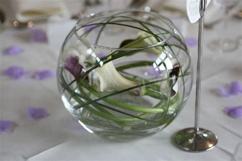 cheap purple wedding centerpieces