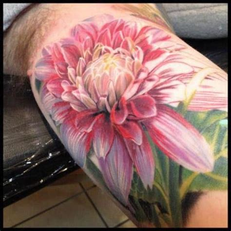flower tattoo no black outline flower tattoo oil paint style no hard lines cute tattoo