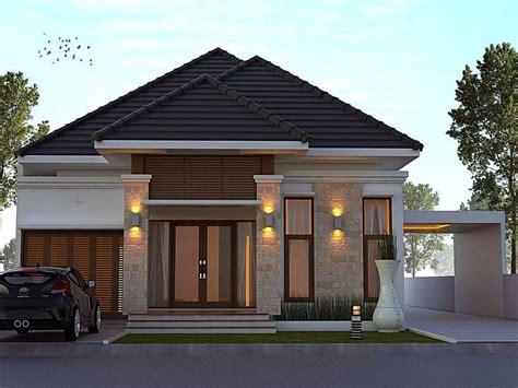 desain rumah minimalis terbaru  model teras batu alam desain rumah minimalist