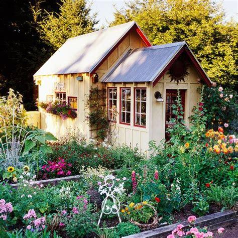 images  pretty garden sheds  pinterest