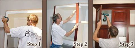 cabinet refacing process how to get started the cabinet cabinet refacing process pacific kitchens inc kitchen