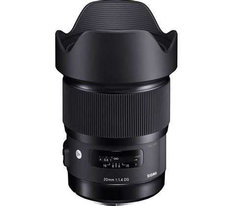 Sigma 20mm 1 4 sigma 20 mm f 1 4 dg hsm wide angle prime lens for canon deals pc world
