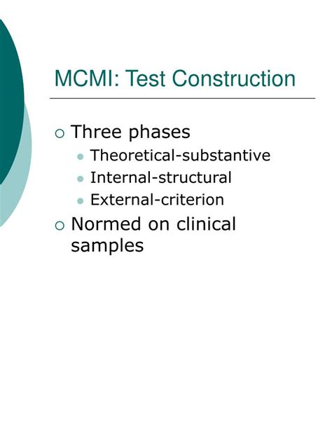 mcmi iii scoring template image collections templates