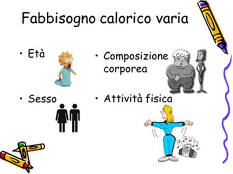 calcolo calorico alimenti calcola il tuo fabbisogno calorico giornaliero dieta