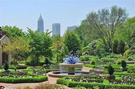 Botanical Garden In Atlanta Ga Atlanta Botanical Gardens Atlanta Attractions Pinterest