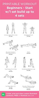 best 25 beginner workout plans ideas on 4