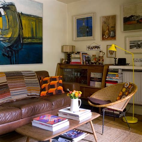 vintage livingroom get creative with fabulous budget eclectic room ideas