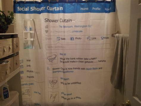 social shower curtain com spinning hat social shower curtain facebook