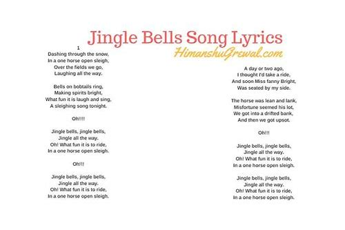 herunterladen weihnacht jingle bell song with lyrics