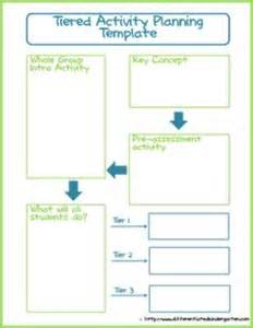 tiered lesson plan template 1000 images about lesson planning on lesson