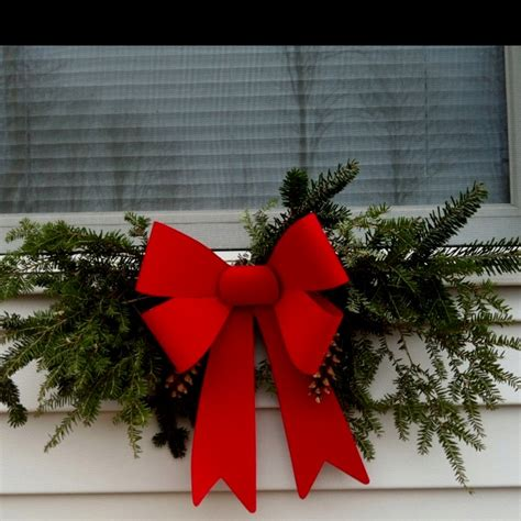 diy christmas window swags a magical christmas pinterest